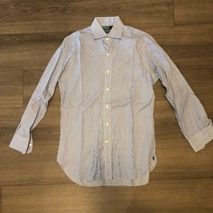 Ralph Lauren regent Custom Fit stripe dress shirt